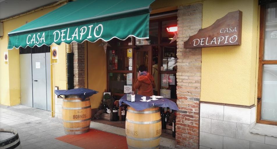 Fachada Casa Delapio