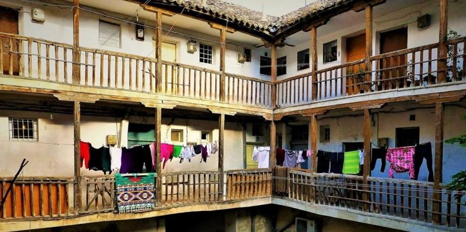 Corrala en casco antiguo de Aranjuez