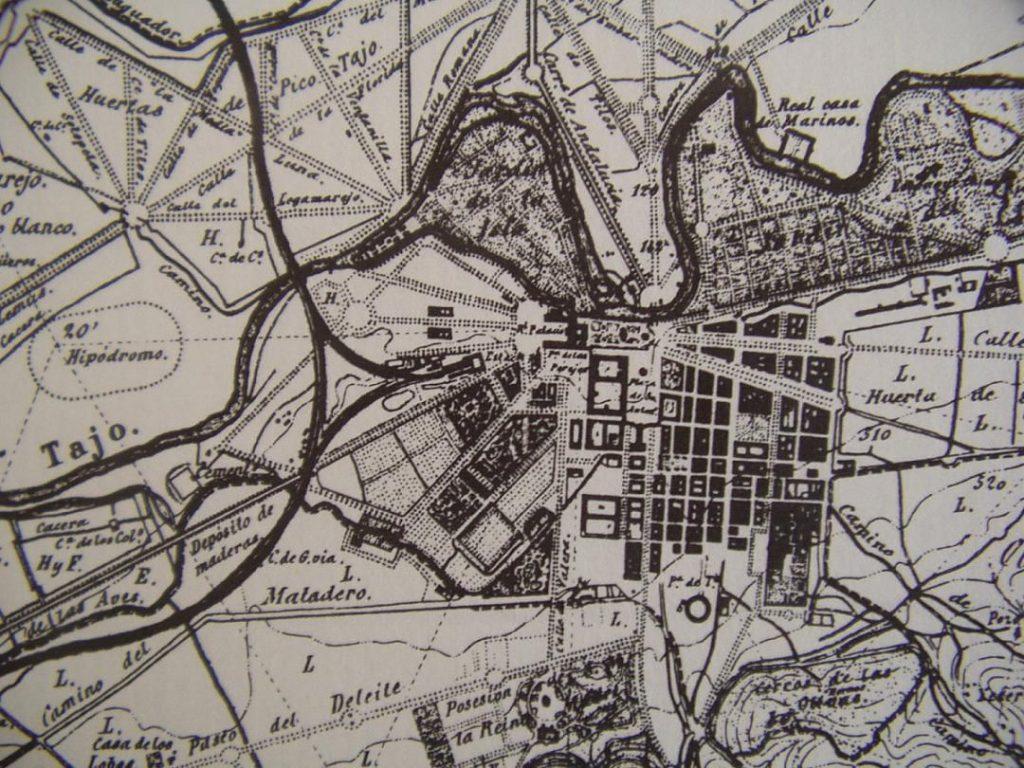 Plano Aranjuez